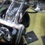 エリミネーター250V前期モデル フロント廻りレストア作業