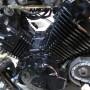 エリミネーター250V 中期型フルブラックのレストア作業-3